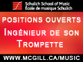 McGill Music jobs