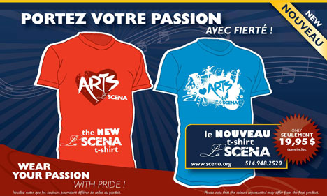 I LOVE THE ARTS T-SHIRT